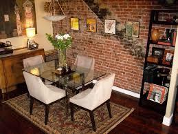 dining exposed brick stunning rustic yet elegant dining room within dining rooms with brick walls 5 design and inspiration dining rooms with brick walls