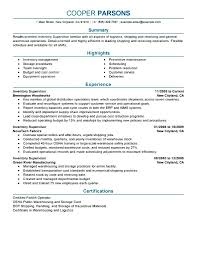 Supervisor Resume Sample Resumess Franklinfire Co Picture Examples