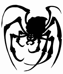 In the meantime, here's the first spider to grab and use if you so desire.  Happy Halloween!