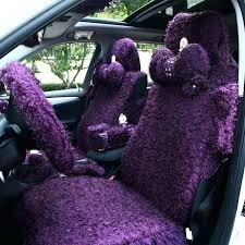 cute seat covers for cars girls fashion cute cartoon purple lace roses pink universal car seat cute seat covers