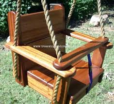wooden toddler swing australia kids seat tree