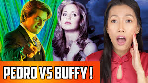 Pedro Pascal Vs Buffy The Vampire Slayer | Perfect Scare Prank On Lulu! -  YouTube