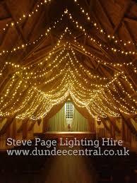 Fortingall hall Lighting Hire