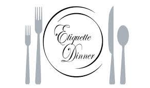 Image result for etiquette dinner