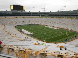 Lambeau Field Seating Chart Lambeau Field View From Section 436s Vivid Seats