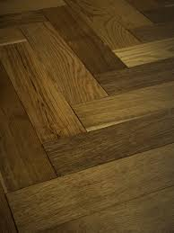 Engineered Wood flooring, Herringbone, 18mm x 90mm, Pyrenees Smoked Oak