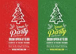 Christmas Design Template Free Christmas Flyer Design Templates 10 Best Free Christmas Party