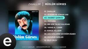 Hasret Şarkısı (Müslüm Gürses) Official Audio #hasretşarkısı #müslümgürses  - Esen Müzik - YouTube