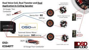 ceiling speaker wiring diagram facbooik com Speaker Diagram 4 ohm dual voice coil wiring diagram with ceiling speaker ice640tt speaker diagrams wiring