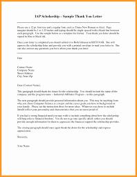 Letters For Scholarships 11 12 Thank You Letter For Scholarships Developersbestfriendcom