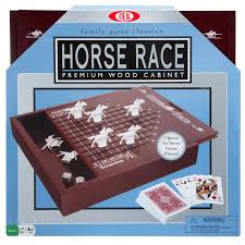 Wooden Horse Racing Dice Game Horse Race Game Classic Games by Ideal 29
