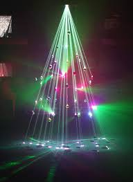I made a laser Christmas tree at work today! Check us out on Facebook if