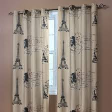 Paris Curtains For Bedroom Photo   1