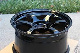 Gram Lights 57dr Wheel 18x9 5 38 5x114 3 Glossy Black