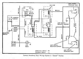 67 rs headlight doors headlight wiring connectors at Headlight Circuit Diagram