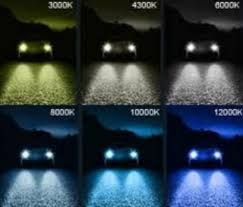 Hid Chart 56 High Quality Xenon Light Color Chart