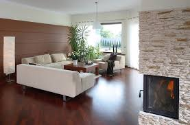 Modern wood floor designs Natural Hickory Wood Luxury Modern Living Room With Wood Flooring And Fireplace The Flooring Girl 60 Stunning Modern Living Room Ideas photos Designing Idea