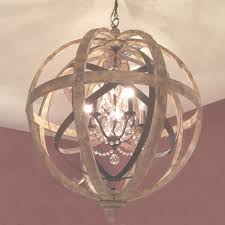 stylish crystal and metal orb chandelier benita 3 light antique within 3 light metal and