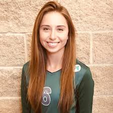 MVNU Volleyball - Emily Garber is a freshman middle hitter from ...