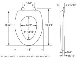 elongated toilet bowl dimensions. bemis elongated toilet seat dimensions bowl