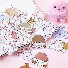 2019 <b>Kawaii</b> Notebook Fashion <b>Cute Pink Pig</b> Pattern <b>Diary</b> Planner ...