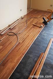 prefinished hardwood flooring installation