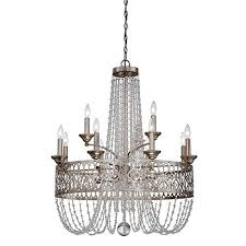 minka lavery chandelier silver light lineage 62375htm