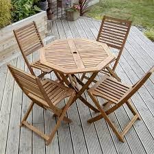 rasch 4 seater dining set wooden