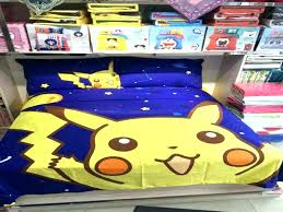 pokemon bed set bedding sets full size bedroom new in a bag sheets and pillow cases