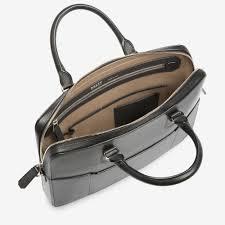 black calf laptop bags bally