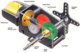 difference between dc motor servo