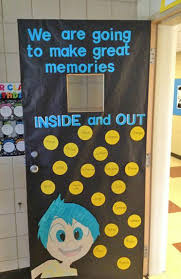 classroom door decorations back to school. Perfect School Check Out This Fun Inside Out Door Idea Featured In The Back To School  Bulletin Board Intended Classroom Decorations To