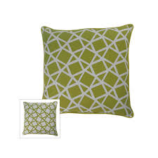 m kennedy home crystal geometric throw pillow yellow  products