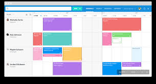 Staff Allocation Chart In Software Engineering Float Resource Planning App And Team Scheduling Software