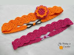 Thread Crochet Patterns Stunning My Hobby Is Crochet Thread Headband Free Crochet Pattern With