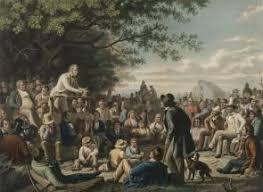 abraham lincoln and jacksonian democracy the gilder lehrman ldquostump speaking rdquo by george c bingham 1856 glc04075
