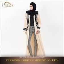 Dubai Jubah Design Wholesale Moroccan Kaftan Dubai Jubah Arabic Saudi Style Muslim Maxi Dress Islamic Feather Design Dubai Front Open Abaya Buy Islamic Feather Design