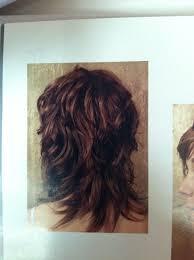 Wavy Shag Haircut Back View Curly Hair Long Hair Styles Hair