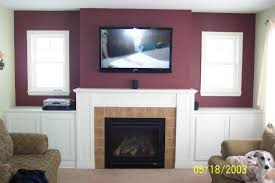 how should i run wiring for my above fireplace mounted tv mounting tv above fireplace