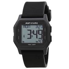 mens digital watches uk delivery on all orders from surfdome rip curl watches rip curl atom digital watch black white