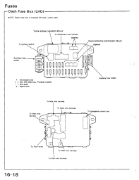 91 civic si fuse diagram honda tech dude i asked for this for days but here man ill save you some time