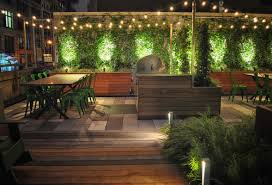 terrace lighting. In The Evenings, Terrace Lighting Transforms Space, Offering Yet Another Way For Residents To Enjoy This Great Amenity. E