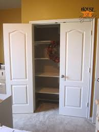 Building closet shelves Ideas Foloume How To Install Shelves In Closet House Of Hepworths