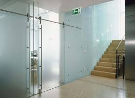 Brilliant Interior Glass Office Doors And Heavy Frameless Anchor Ventana
