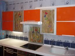 Авторские кухонные <b>фасады</b>. В комбинации <b>стекло</b>, <b>МДФ</b>, камень ...