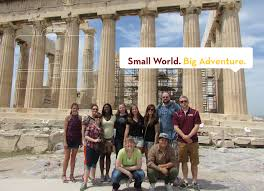 office of admissions university of minnesota crookston umc students ing on a study abroad trip faculty member tag line reads