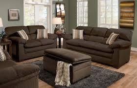 Oversized Living Room Furniture Sets Lakewood Oversized Sofa Loveseat Set Chocolate Orange County