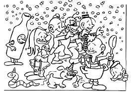 Carnaval Speciale Dagen Kleurplaat Animaatjesnl