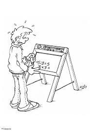 Disegno Da Colorare Lavagna Con Numeri Cat 5511 Images