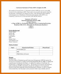 It Sow Template 5 6 Sow Template Doc Artresumesample Info